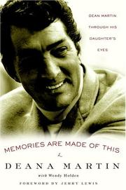 Cover of: Memories are made of this | Deana Martin