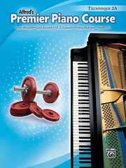 Cover of: Premier Piano Course Technique Book 2a