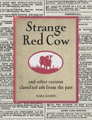Cover of: Strange Red Cow