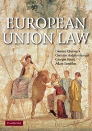 Cover of: European Union Law Text And Materials Updating Supplement