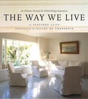 Cover of: way we live | Stafford Cliff