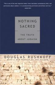 Cover of: Nothing Sacred: The Truth About Judaism