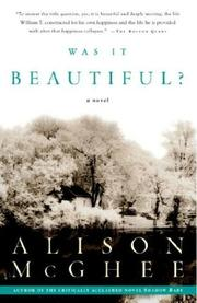 Cover of: Was It Beautiful?