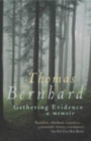 Memoirs by Thomas Bernhard