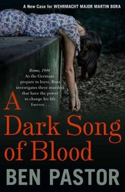 Cover of: Dark Song Of Blood
