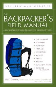Cover of: The Backpacker's Field Manual, Revised and Updated | Rick Curtis