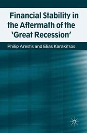 Cover of: Financial Stability In The Aftermath Of The Great Recession