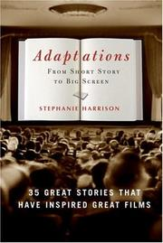 Cover of: Adaptations |