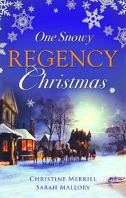 Cover of: One Snowy Regency Christmas