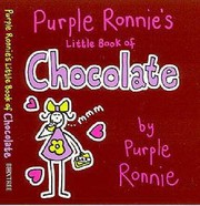Cover of: Purple Ronnies Little Book Of Chocolate