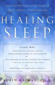 Cover of: Healing sleep | Rubin R. Naiman