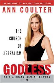 Cover of: Godless: The Church of Liberalism