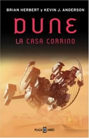Cover of: Dune, la casa Corrino