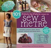 Cover of: 101 Fabricbyfabric Ways To Sew A Metre