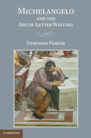Cover of: Michelangelo And The Art Of Letter Writing