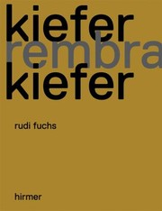 Cover of: Anselm Kiefer Und Rembrandt