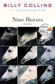 Cover of: Nine Horses | Billy Collins