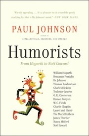 Cover of: Humorists From Hogarth To Nol Coward