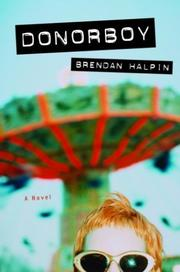 Cover of: Donorboy | Brendan Halpin