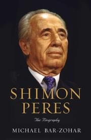 Cover of: Shimon Peres