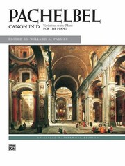 Cover of: Canon In D Variations On The Theme For The Piano