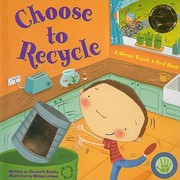 Cover of: Choose To Recycle