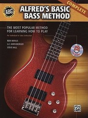Cover of: Alfreds Basic Bass Method Complete