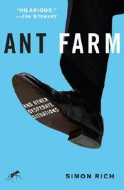 Cover of: Ant Farm: And Other Desperate Situations