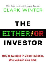Cover of: The Either/Or Investor