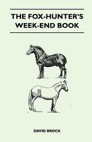 Cover of: The FoxHunters WeekEnd Book