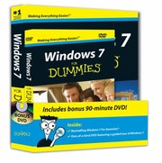 Cover of: Windows 7 For Dummies Book And Dvd Bundle