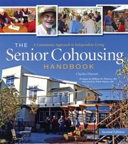 Cover of: The Senior Cohousing Handbook A Community Approach To Independent Living