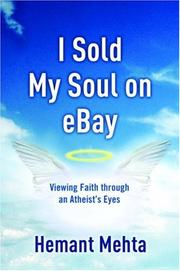 Cover of: I Sold My Soul on eBay