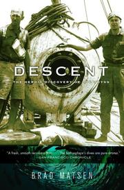 Cover of: Descent: The Heroic Discovery of the Abyss