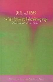 Cover of: Six Poetry Formats And The Transforming Image A Monograph On Free Verse