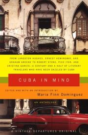 Cover of: Cuba in Mind