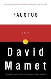 Cover of: Faustus: a play