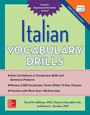 Cover of: Italian Vocabulary Drills