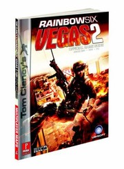 Cover of: Tom Clancys Rainbow Six Vegas 2 Official Game Guide Xbox 360 Ps3 Pc