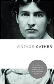 Cover of: Vintage Cather
