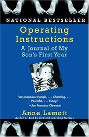 Cover of: Operating instructions | Anne Lamott