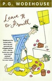 Cover of: Leave it to Psmith