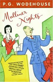 Cover of: Mulliner nights
