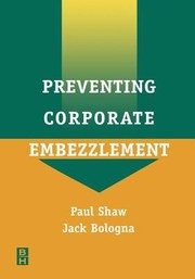 Cover of: Preventing Corporate Embezzlement