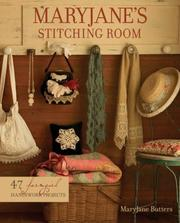 Cover of: MaryJane's Stitching Room