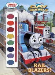 Cover of: Rail Blazers Paint Box Book
