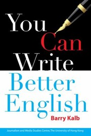 Cover of: You Can Write Better English
