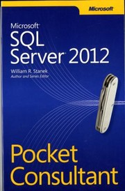Cover of: Microsoft Sql Server 2012 Pocket Consultant