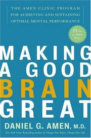 Cover of: Making a Good Brain Great