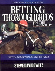 Cover of: Betting Thoroughbreds For The 21st Century